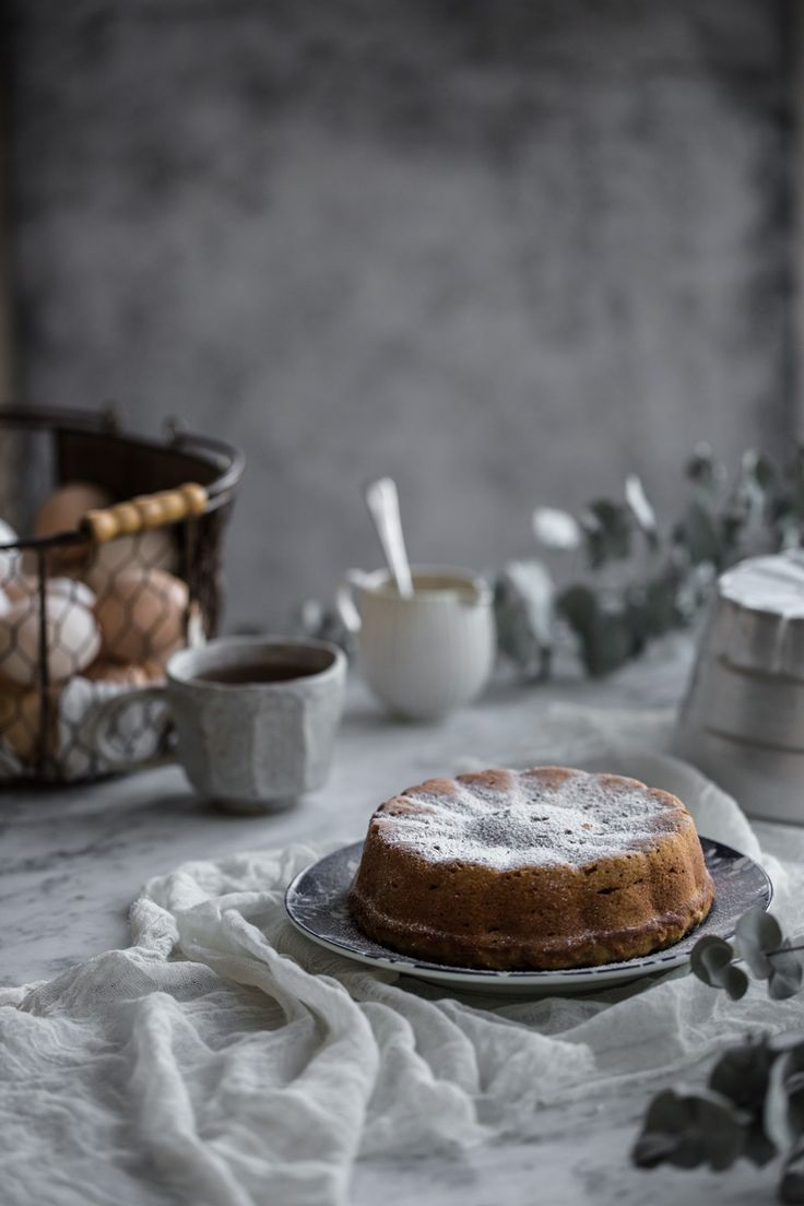 Apple And Almond Cake - Cook Republic. Basket