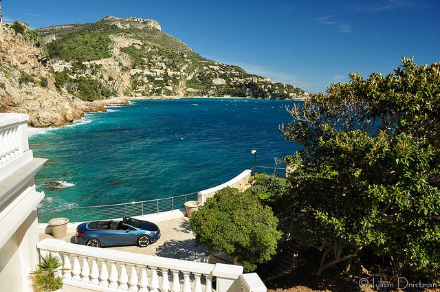French Riviera view by Iulian.Dnistran.ro, via Flickr