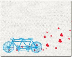 Bicycle wedding website designs