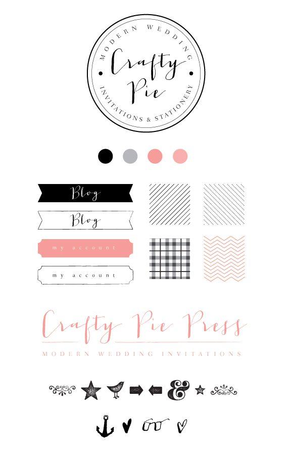    crafty pie branding