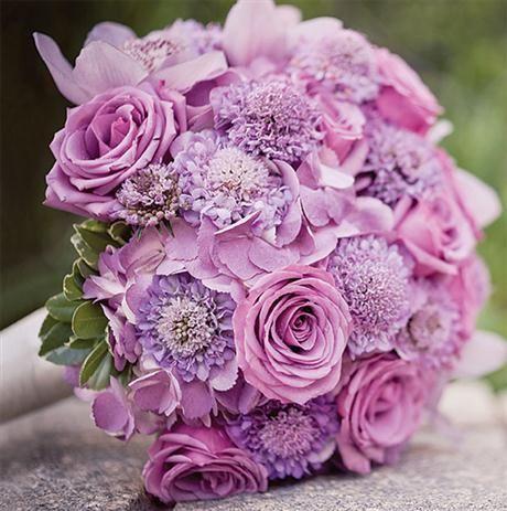 Bouquet de novia en rosa y fucsia