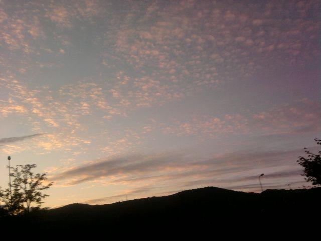 le nubi danno spettacolo