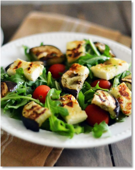 New Low FODMAP Recipes   http://www.ibssano.com/low_fodmap_recipe_eggplant_halloumi_salad.html