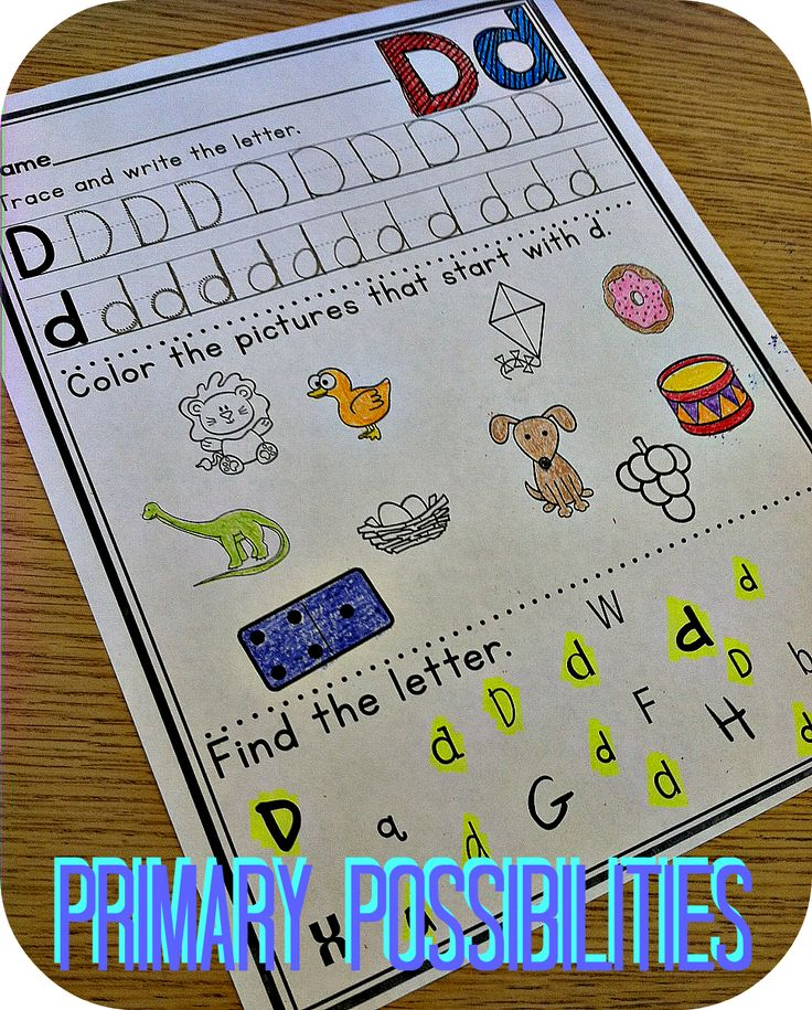 Great activities for practicing letter identification, initial sounds, and  letter formation!