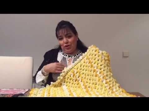 TEJE MANTA BB PINEAPPLE - Crochet fácil y rápido - Yo Tejo con LAURA CEPEDA - YouTube