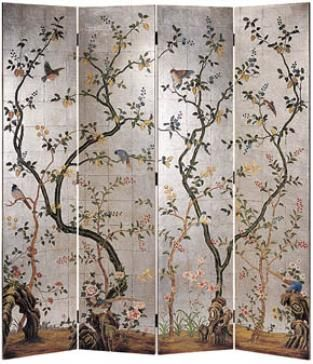 Best Divider Screens Images On Pinterest Folding Screens - Cherry blossom room divider screen