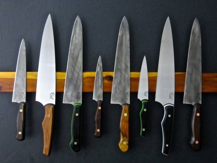 What I want for Christmas? Any knife from Cut Brooklyn because they're just the best ... period.