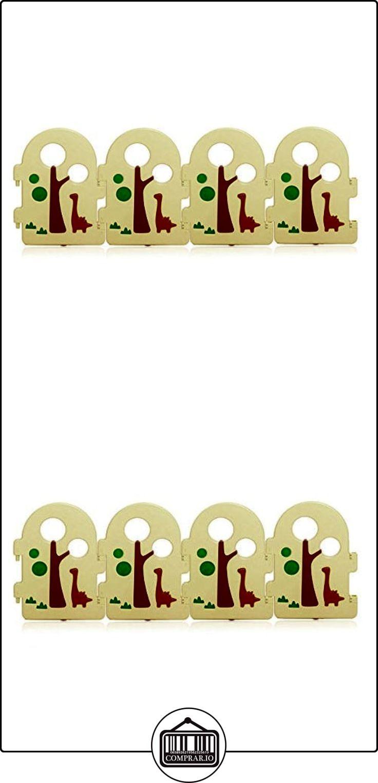 BABY VIVO Parque corralito plegable puerta robusto plastico bebe barrera de seguridad jugar - Paquete adicional 4 Elementos Forest  ✿ Seguridad para tu bebé - (Protege a tus hijos) ✿ ▬► Ver oferta: http://comprar.io/goto/B06XFW9D71