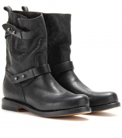 Rag & Bone - MOTO LEATHER BIKER BOOTS  - mytheresa.com GmbH