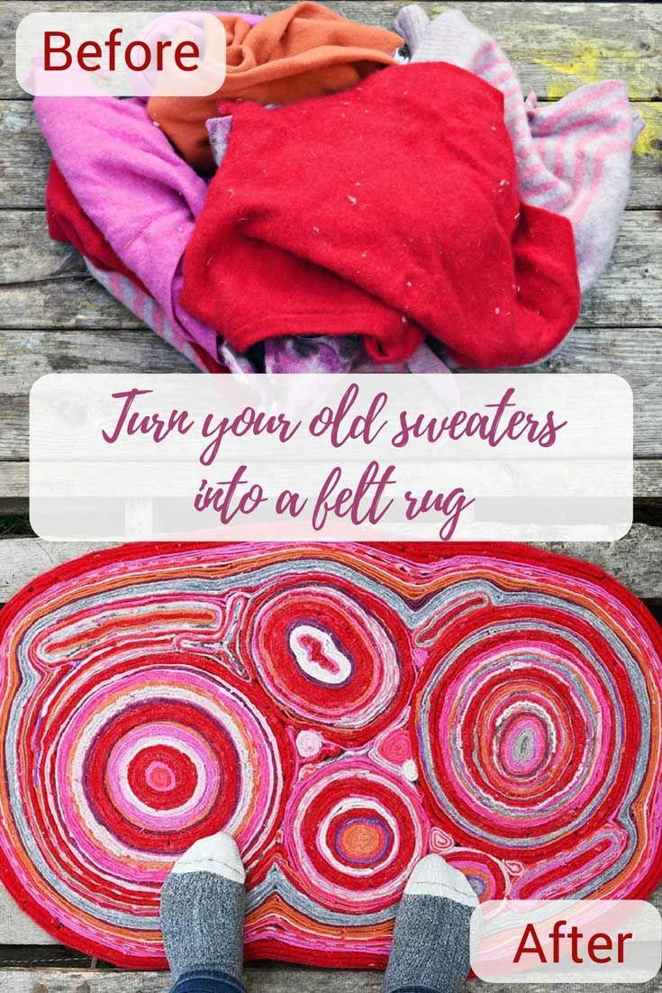 Werfen Sie Ihre alten Wollpullover nicht weg, bewahren Sie sie auf und machen Sie diesen …