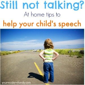 Helping a toddler to speak