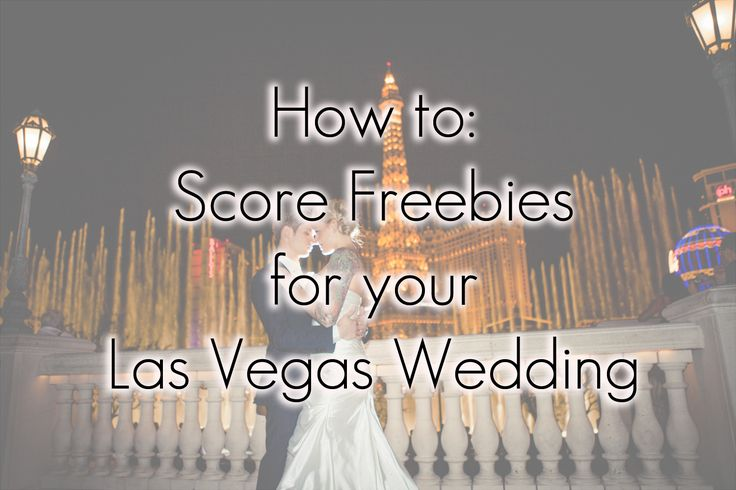 Free Stuff for your Vegas Wedding | Little Vegas Weddin