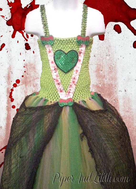 Zombie Princess Tutu Dress Halloween Costume - Fits Ages 6-10 by piperandlilith. Explore more products on http://piperandlilith.etsy.com