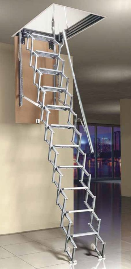 Best 25 Retractable Ladder Ideas On Pinterest Ladder To