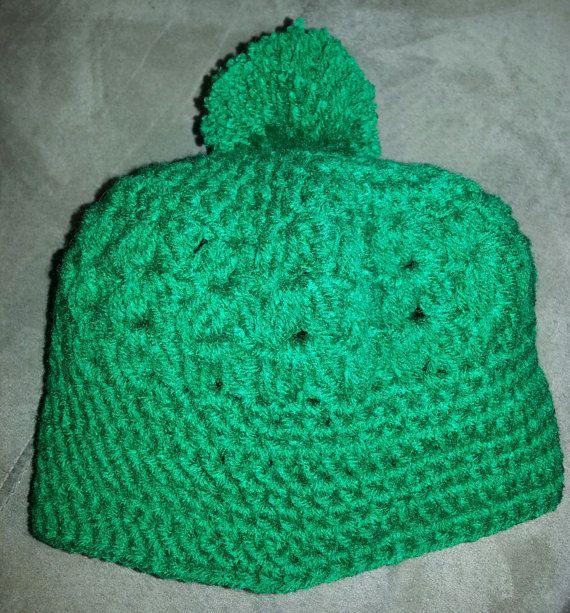 Handmade Crochet Beanie Hat Custom by PerfectlyImperfect4U on Etsy, $25.00