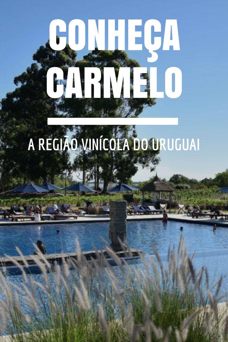 Sabia que o Uruguai também tem uma região vinícola? Leia esse post e conheça tudo sobre Carmelo: http://viagememdetalhes.com.br/ja-ouviu-falar-de-carmelo-regiao-vinicola-do-uruguai/