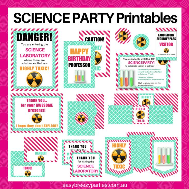 91 best Themes: Mad Scientist Party images on Pinterest   Birthdays ...