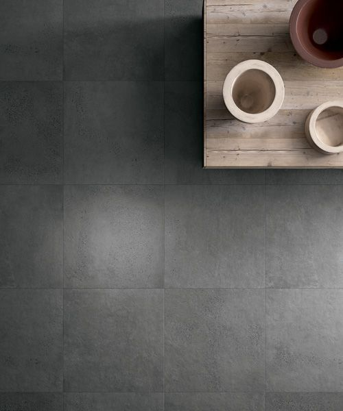 Aggregate Lifestyle - Charcoal   With the impact of concrete and benefits  of porcelain, our