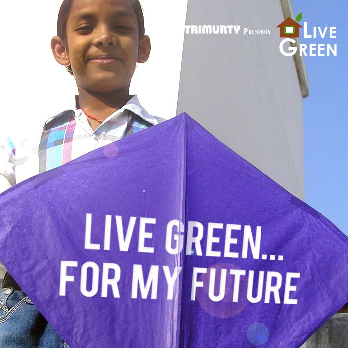 Kids have a message this Makar Sakranti, #LiveGreen for their future