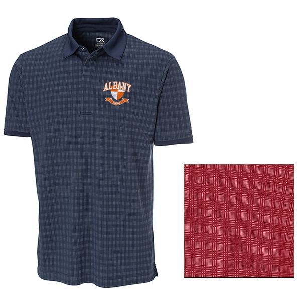 Cutter & Buck MCK00664 Mens CB DryTec Luxe Bryant Polo   Embroidered Logo Cutter & Buck Sport Polos