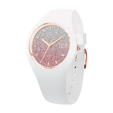 MONTRES ICE lo White Pink Moyenne (M)