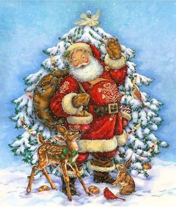 santa christmas by donna race - Santa Hohoho 2