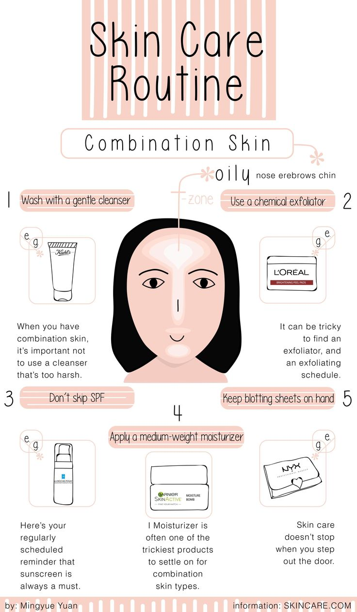 A Simple Skin Care Routine for Combination Skin Types