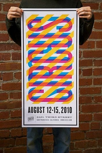 161608922130 bVyrCeDV l 2 25 Beautiful and modern poster designs for your inspiration: Graphic Design, Design Inspiration, Idea, Color, Graphicdesign, Nathan Godding, Circus Poster, Typography, Poster Designs