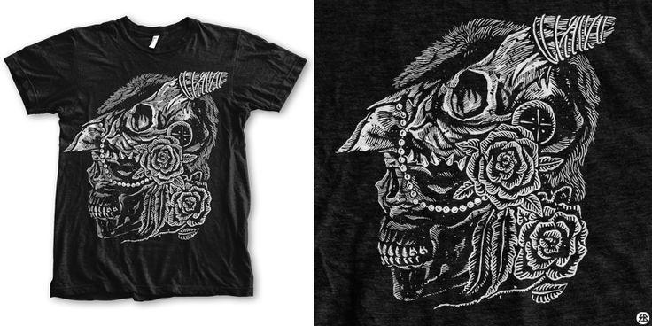 """deterioration"" t-shirt design by sebrodbrick"