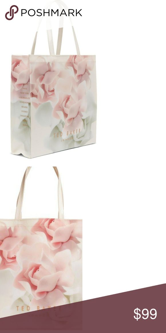 Ted Baker London Rose Icon Tote Patent Tote Bag by Ted Baker London Pristine Condition  Perfect As A Daily Shopping Bag!   Make An Offer Ted Baker London Bags Totes