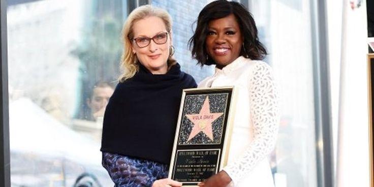A talentosa Viola Davis recebe sua estrela na Calçada da Fama
