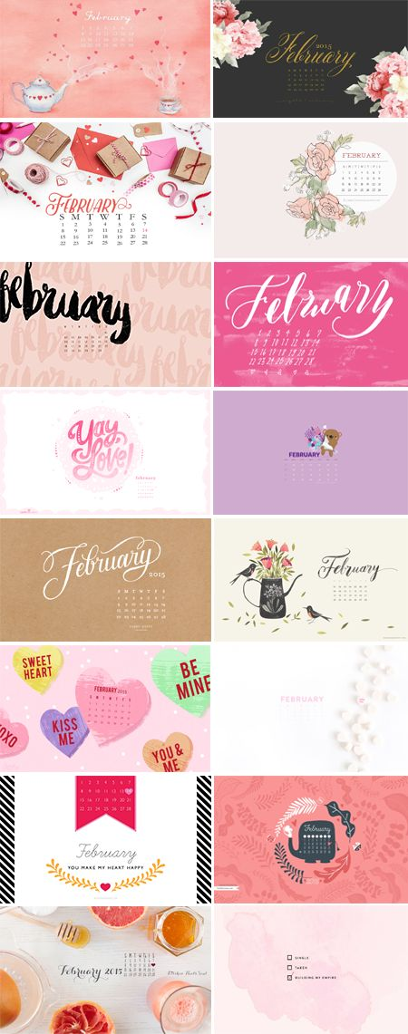 Happy February! We are one month closer to Spring...and I can't wait! Enjoy this month's desktop collection :-) 1. The Naming of Things | 2. Noor AlQahtani 3. Apple House Design | 4. Katrina Crouch | 5. Oliveandlavender 6. Oh So Beautiful Paper | 7. Card Store | 8. Reg Silva 9. Sugar Paper |…