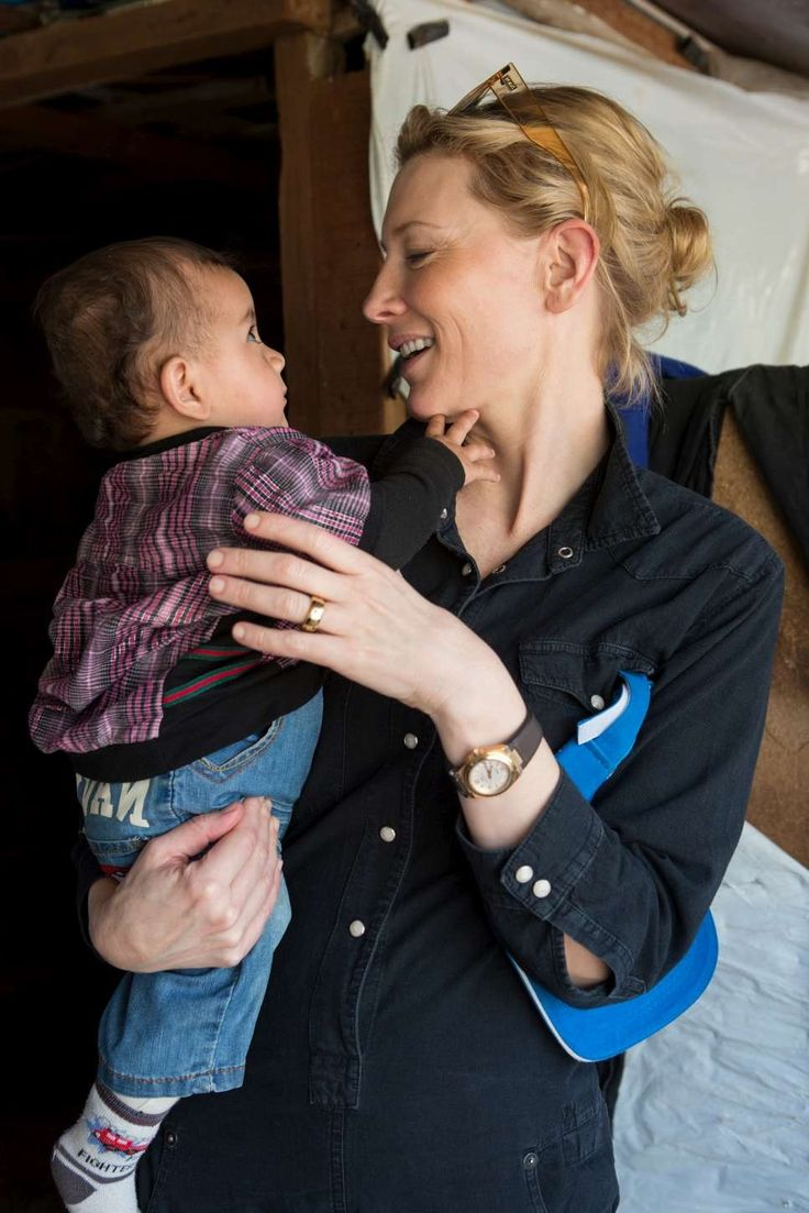 UNHCR #IBelong Campaign - Visit in Lebanon (2015) - 010 - Cate Blanchett Fan | Cate Blanchett Gallery