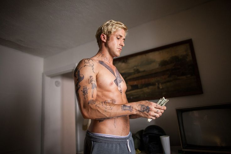 Ryan Gosling, The place beyond the pines.