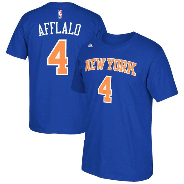 Arron Afflalo New York Knicks adidas Net Number T-Shirt - Blue - $22.39