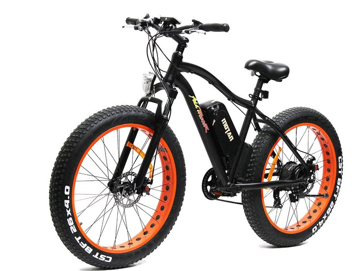 Addmotor MOTAN New Updated Electric Bike M-550 48V 500W Bafang Motor 10.4AH Sansung Lithium Battery Electric Mountain Bicycle With Shimano 7 Speeds Fat Tire Suspension Fork. MOTAN 2016 Fat Tire Electric Bicycles For Adults. 500 Watt Bafang Rear Hub Motor . 48V*10.4AH Samsung Lithium Batteries. USA MOZO Aluminum Cover Lockout Fat Tire Suspension Fork. Shimano 7 Speeds TX55 Gears. 6061 Aluminum Frame. Throttle: 1/2 Twist Throttle 28ml(Electric only), 45ml(pedal assistant) Speeds up to 20…