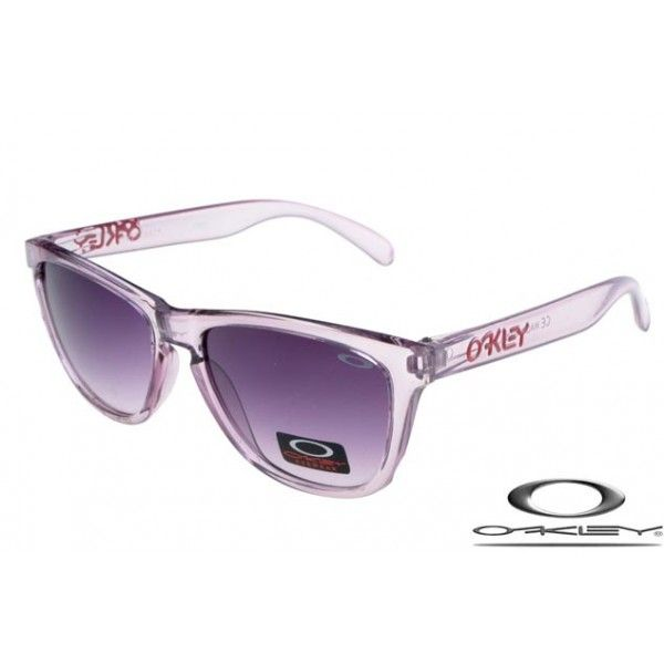 Oakley Frogskins Sunglasses with Amethyst Iridescent Frame/Black Violet Gradient