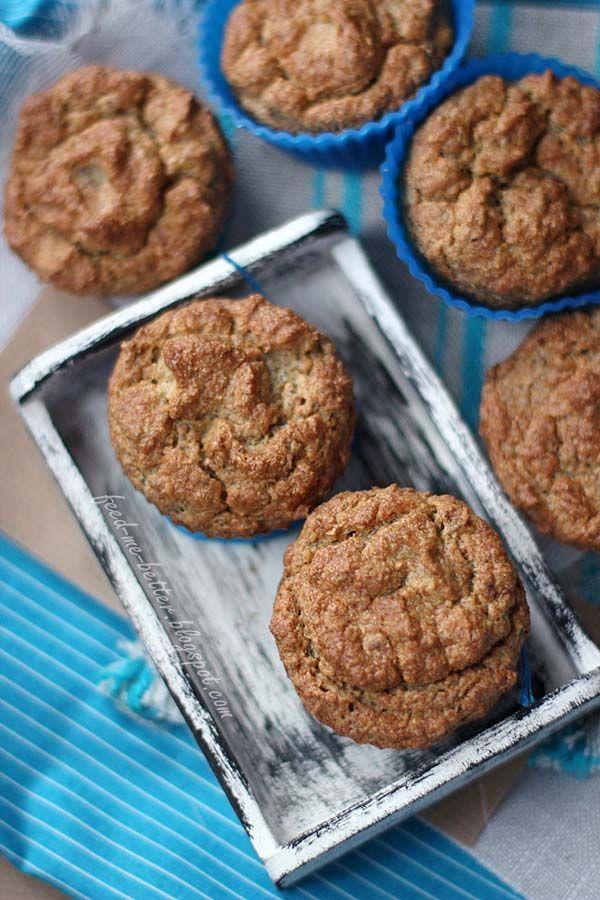 scroll down for english version  Dawno nie było u mnie muffinów. Problem w eksperymentowaniu z dietetycznymi zamiennikami w muffinach jest ...