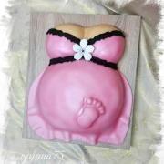 Těhotné břicho