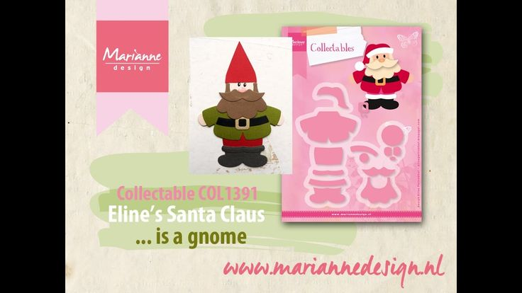 How to make a Gnome of the COL1391 Santa Claus by Eline