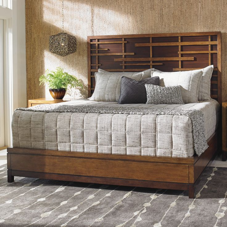 Tommy Bahama By Lexington Home Brands Island Fusion Shanghai Panel Bed    Mix Modern Style With Asian Design Influences, And You Get The Tommy Bahama  By ...