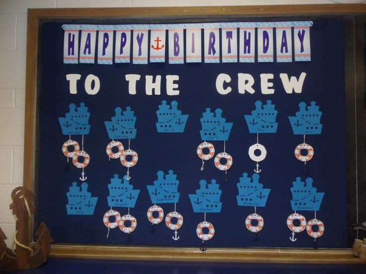 Nautical Birthday BB