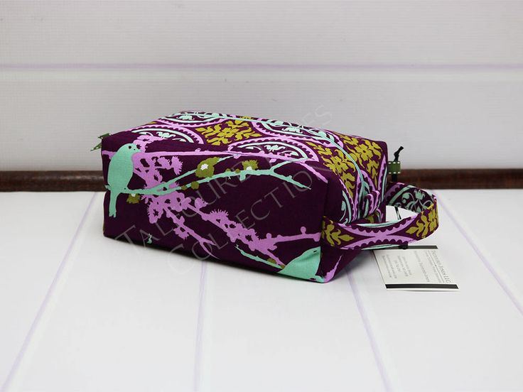 Travel Toiletry Bag - Womens Dopp Bag - Cosmetic Travel Bag - Travel Makeup Bag - Joel Dewberry - Purple Toilet Bag - Gift Ideas for Her by TalfourdJones on Etsy