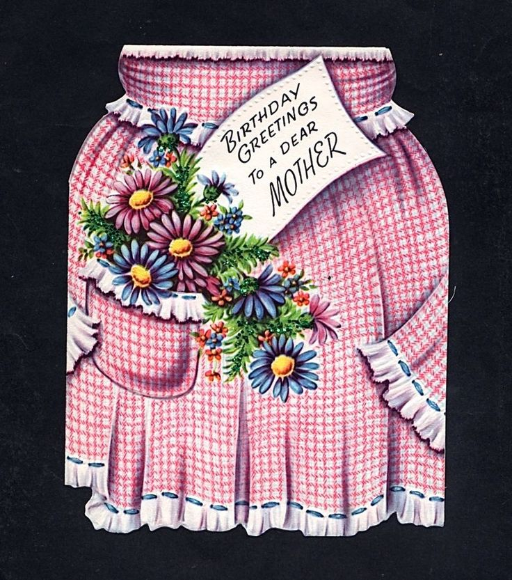 44 Best Images About Apron Cards On Pinterest
