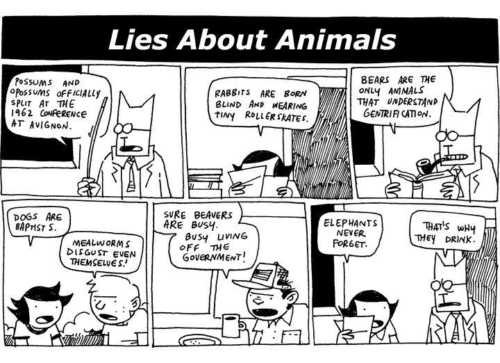 Lies About Animals