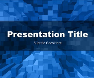 Stacked Boxes PowerPoint template is a free PPT template background for your PowerPoint presentations with an original design