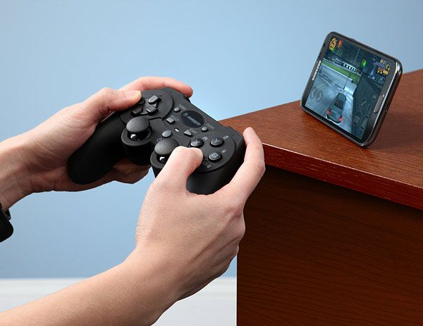 Bluetooth Game Controller... $39.99  http://www.waycoolgadgets.com/bluetooth-game-controller/  #gaming #bluetooth