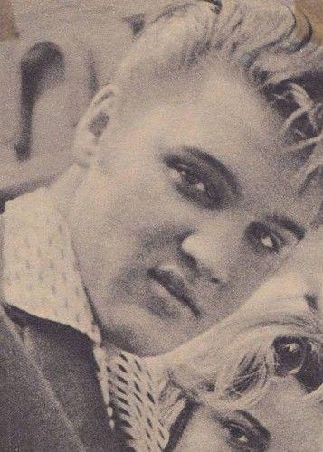 Elvis ☆ Elvis Presley Blonde His Natural Hair Color