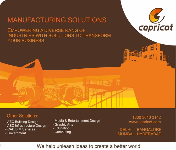 Capricot Manufacturing Solution Mouse Pad