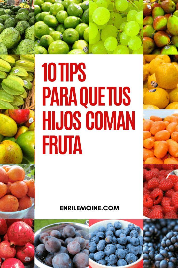 10 tips para que tus hijos coman fruta - SAVOIR FAIRE by enrilemoine Recetas Puertorriqueñas, You Better Work, Latina, Blueberry, Fruit, Tips, Recipes, Food, Ideas